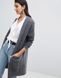 Selected Femme Knitted Cardigan Grey