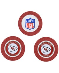 Team Golf Kansas City Chiefs 3 Pack Poker Chip Markers Red