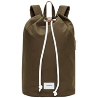 Sandqvist Evert Drawstring Bucket Backpack Olive