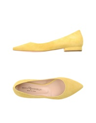 Marco Barbabella Ballet Flats Yellow