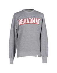 Franklin And Marshall Topwear Sweatshirts Men Grey