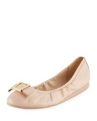 Cole Haan Emory Bow Ballet Flats Nude