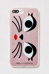 Urban Outfitters Karl Lagerfeld Glam Choupette Iphone 8 7 6 Plus Case Pink