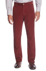 Men's Big And Tall Cutter And Buck 'Walker' Straight Leg Corduroy Pants Sleigh