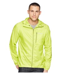 Marmot Trail Wind Hoodie Bright Lime Clothing Green