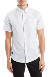 7 Diamonds Men's Colossus Woven Shirt White