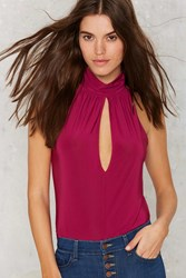 Nasty Gal Neck And Neck Tank Blouse