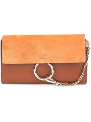 Chloe Faye Clutch Brown