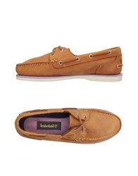 Timberland Loafers Camel