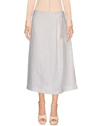 Max And Co. 3 4 Length Skirts Ivory