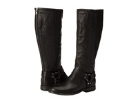 Frye Phillip Harness Tall Extended Black Extended Women's Pull On Boots