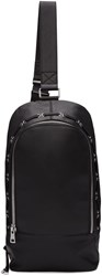 Diesel Black Gold Leather Small Backpack