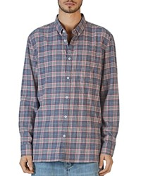 Barney Cools Cabin Long Sleeve Plaid Relaxed Fit Shirt 100 Exclusive Pink Plaid
