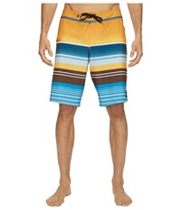 Quiksilver Everyday Stripe Vee 21 Boardshorts Artisan Gold Men's Swimwear Tan
