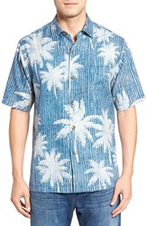 Tommy Bahama Men's Palmatrix Short Sleeve Silk Sport Shirt