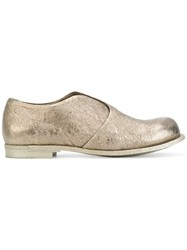 Officine Creative Muse Loafers Goat Skin Leather Metallic