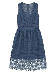 Gerard Darel Aurora Dress Blue
