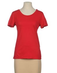 Dimensione Danza Short Sleeve T Shirts Red