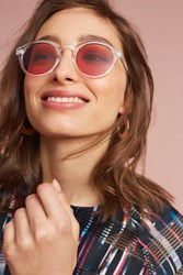 Anthropologie Primary Colored Sunglasses Pink