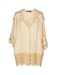 Twin Set Simona Barbieri Shirts Shirts Women Sand