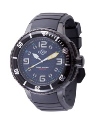 Gv2 Men's Termoclino Stainless Steel Diver Watch Black
