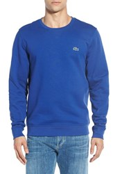 Men's Lacoste 'Sport' Crewneck Sweatshirt Royal Blue