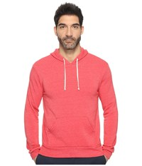 Alternative Apparel Hoodlum Pullover Hoodie Eco True Red Men's Long Sleeve Pullover Pink