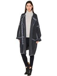 Chloe Wool And Cashmere Knit Coat