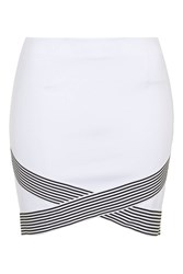 Wait And See Skirt By Wyldr Ivory