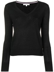 Patrizia Pepe V Neck Jumper Black