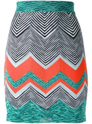 Missoni Zigzag Knit Skirt
