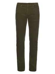 Burberry Corduroy Slim Fit Trousers