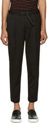 Diesel Black Belted P Pollack Sw Trousers