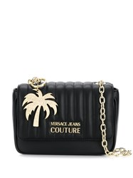 Versace Jeans Couture Palm Tree Keyring Cross Body Bag Black
