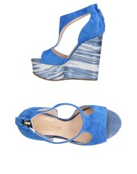 Aldo Castagna Sandals Bright Blue
