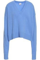 Iris And Ink Cashmere Sweater Light Blue