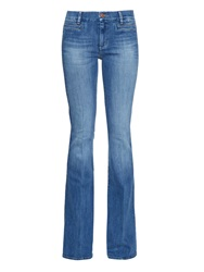 Mih Jeans Marrakesh High Rise Kick Flare Jeans
