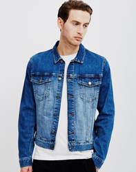 Cheap Monday Staple Denim Jacket Blue