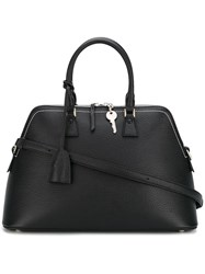 Maison Martin Margiela Large '5Ac' Shoulder Bag Black
