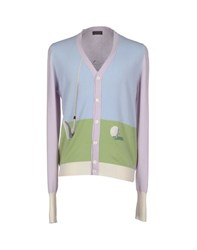 Ballantyne Knitwear Cardigans Men Sky Blue