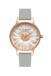 Olivia Burton Flower Show Moulded Daisy Watch By Grey