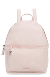 Ted Baker London Leather Backpack Pink Pale Pink