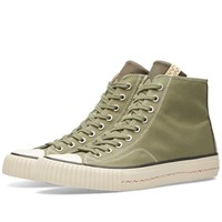 Visvim Skagway Hi Canvas Green
