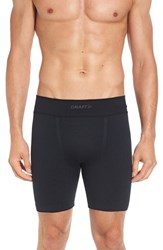 Craft Men's 'Active Comfort' Boxer Briefs Black Solid