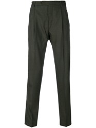 Al Duca D'aosta 1902 Tailored Trousers Virgin Wool Green