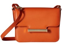 Jason Wu Diane Vitello Leather Mini Crossbody Burnt Orange Cross Body Handbags