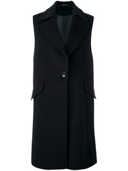 Tagliatore Sleeveless Coat Blue