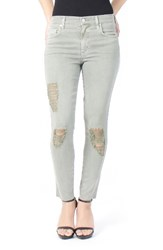 Level 99 Women's Jane Destroyed High Waist Skinny Jeans