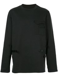 Matthew Miller Crew Neck Sweatshirt Black