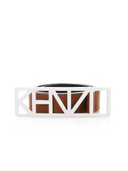 Kenzo Logo Leather Waist Belt